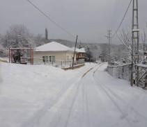 7 Ocak 2019 – Köyümüz Beyazlara Büründü.
